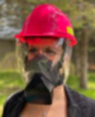 Mask-shield-construction
