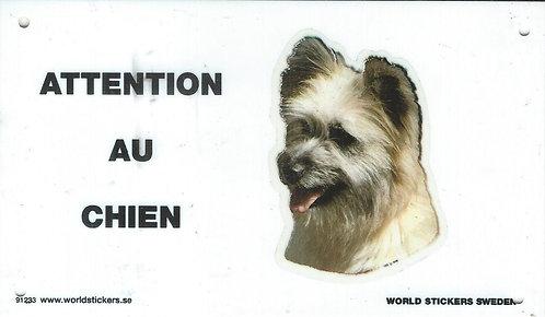 Attention au Chien - Berger des Pyrénées