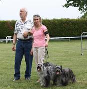 Meilleur lot d'élevage : Rey Blue, Nina Blue et Reve Bleu du Moulin d'Ebène