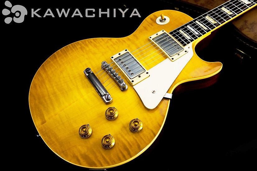 "Gibson Custom Shop Historic Collection 1958 Reissue Les Paul ""Lemon Drop"" Flame"