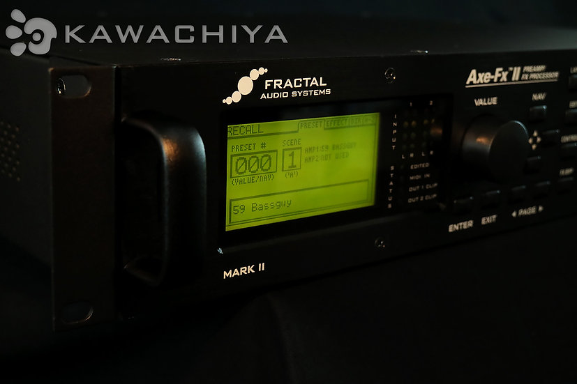 "FRACTAL AUDIO SYSTEMS Axe-Fx II (Mk2) ""KAWACHIYA購入特典付"" 正規輸入品"