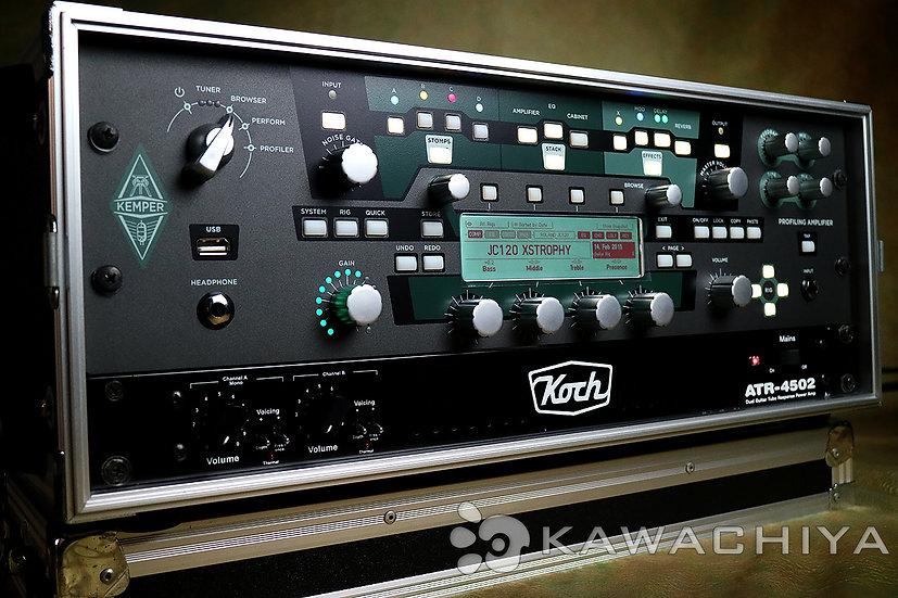 Kemper Profiling Amplifier Rack KOCH ATR-4502 power amp REMOTE ラックセット!