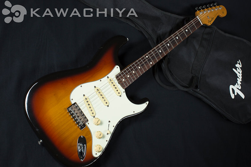 Fender Japan ST62-TX 3TS Texas Special搭載
