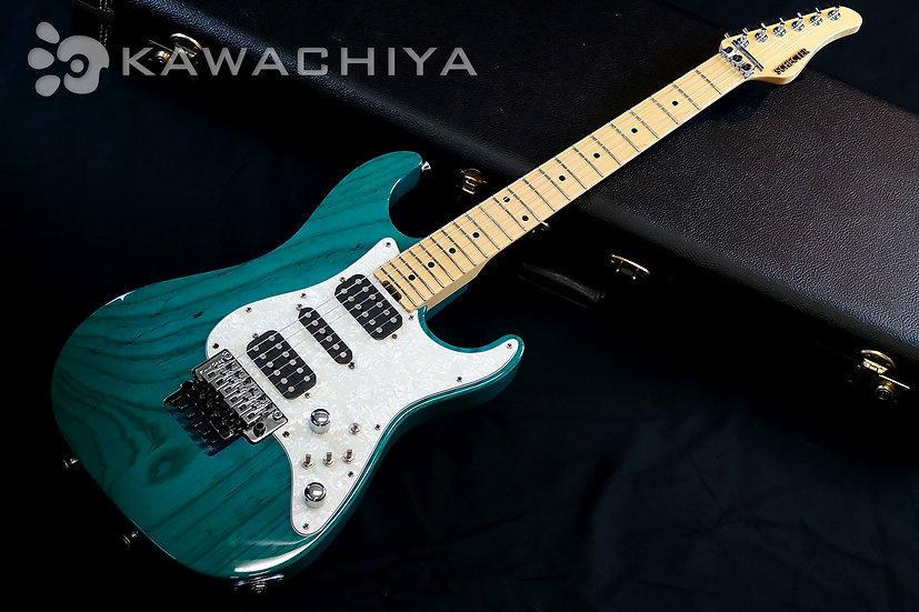 "SCHECTER EX-5-22 STD FRT -Indigo Light Blue- / 2010年製 ""Switchroo System"