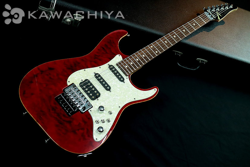 "TOM ANDERSON Drop Top Classic Quilt Top ""Cajun Red with Binding"" / 2007年製"
