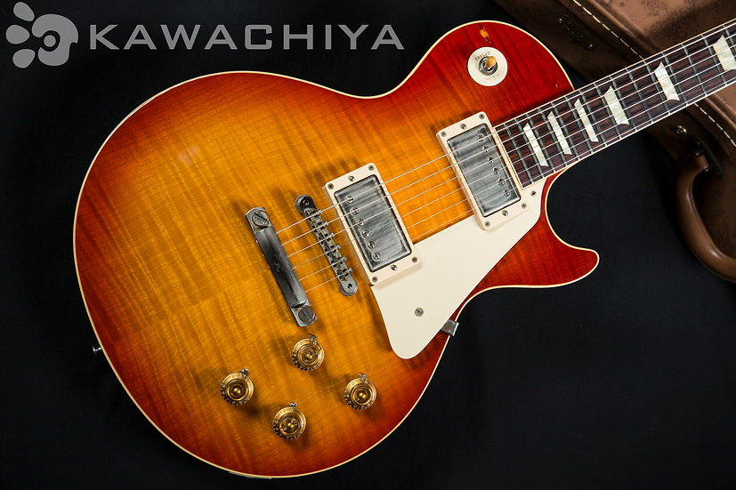 "Gibson Custom Shop Historic Collection 1959 Reissue Les Paul ""Cherry Sunburst"" F"