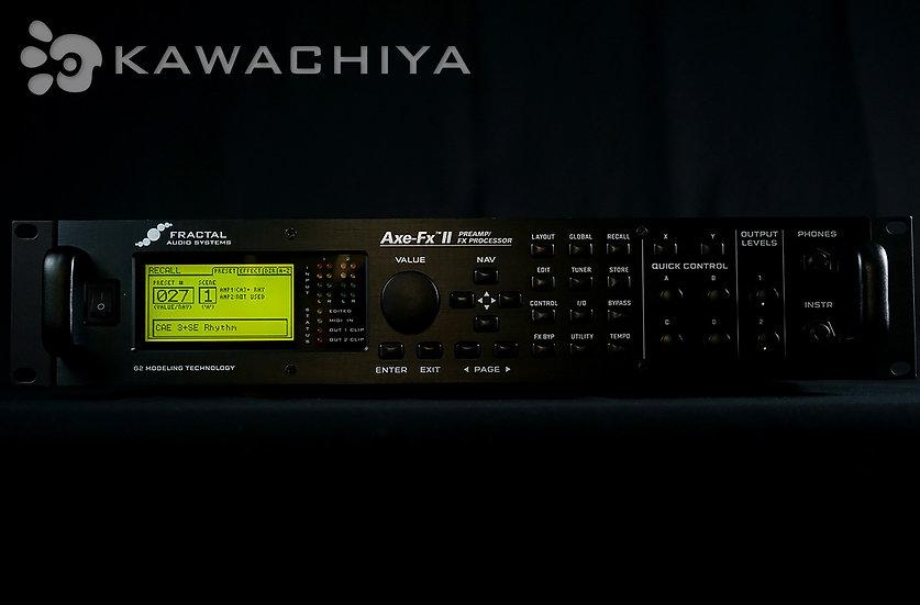 "FRACTAL AUDIO SYSTEMS Axe-Fx II ""KAWACHIYA購入特典付"" 正規輸入品"