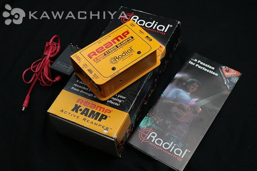 Radial X-AMP アクティブ リアンプ
