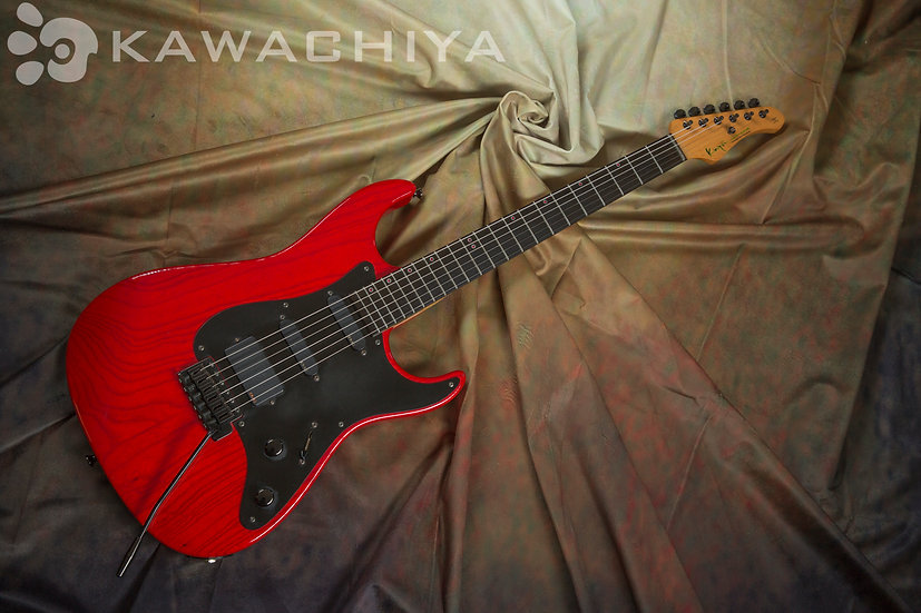 K.Nyui Custom Guitars Dinky Type / Ebony Finger Board LED Position Mark