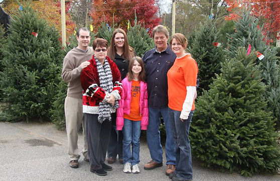 Family Owned Christmas Tree Lot Birmingham
