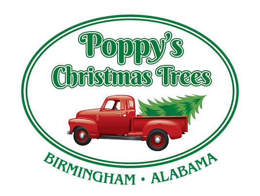 Poppys Christmas Tree Lot on Montevallo Road in Birmingham Alabama