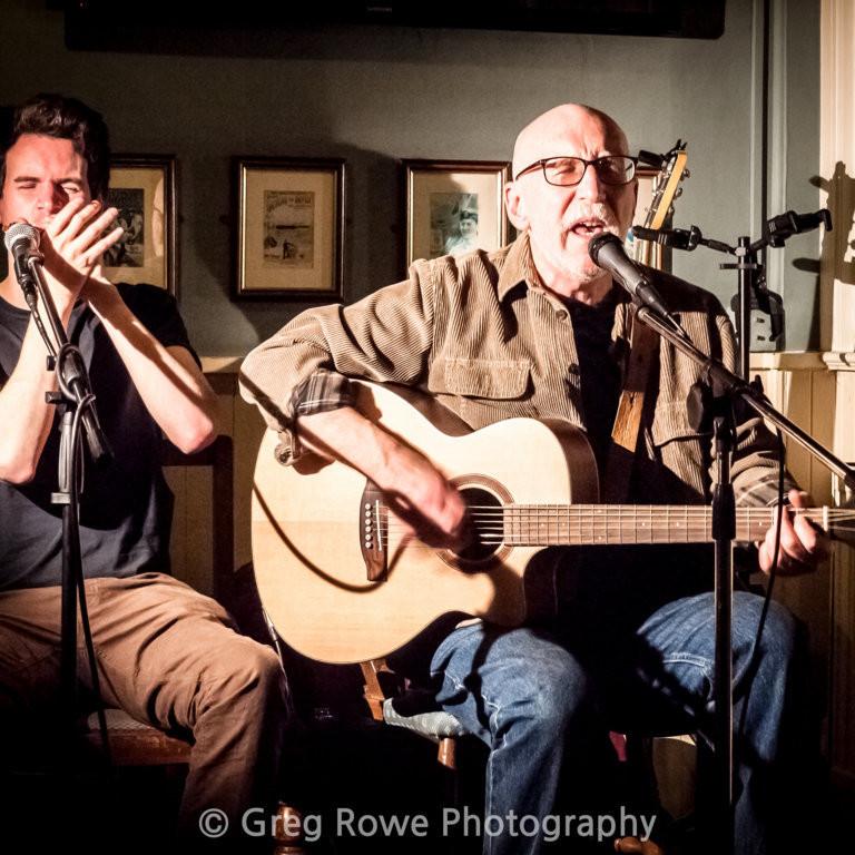 Pete Harris and Jon Vaughan