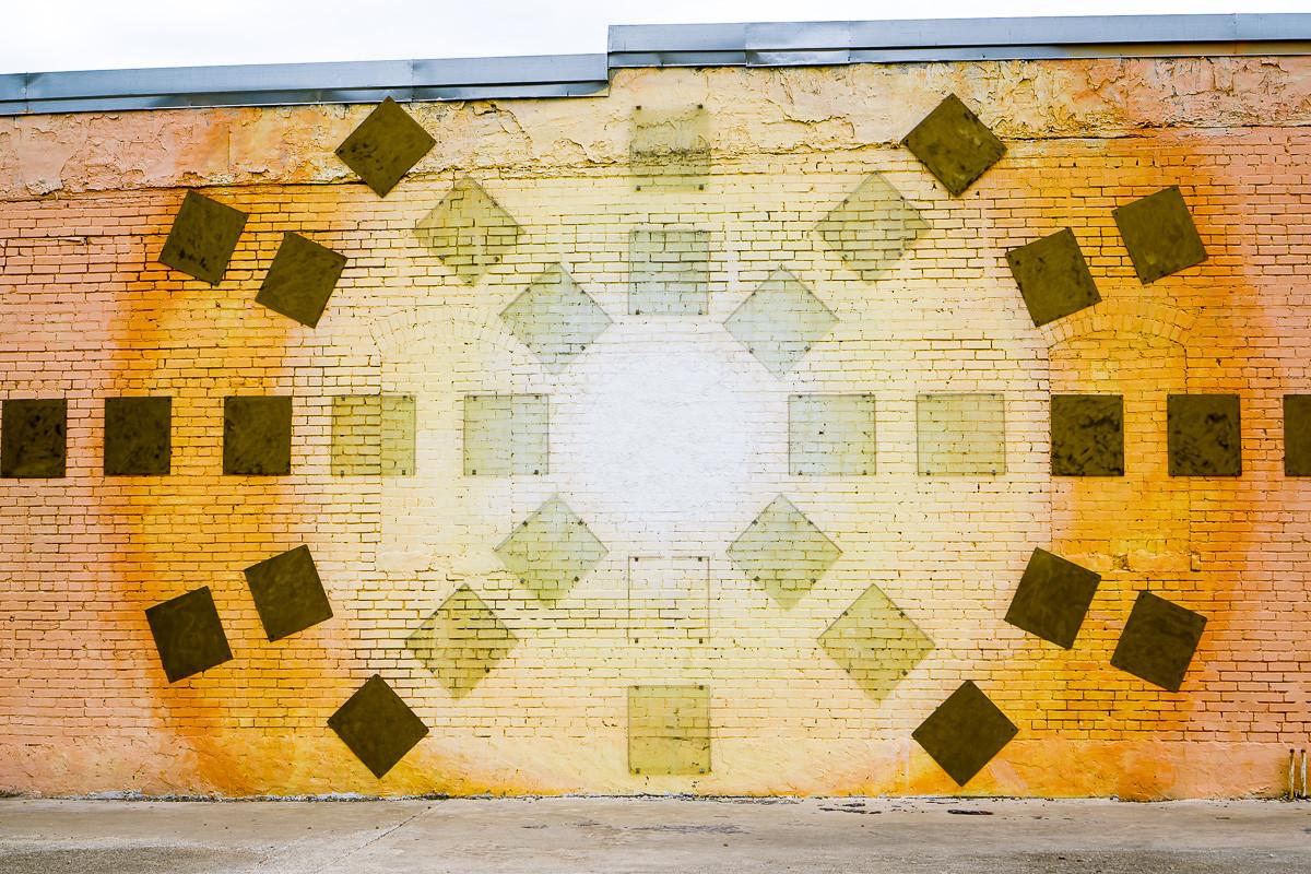 Deep Ellum - Sunset Mural Wall 2606 Swis