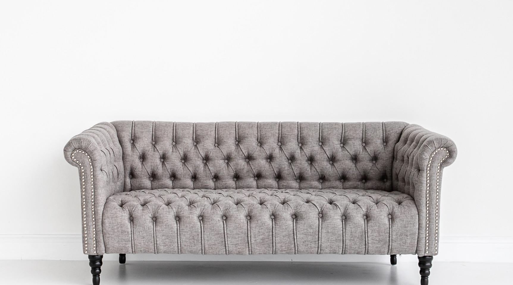 Black and Light Studio Sofa
