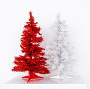 3 ft. Red and White Trees