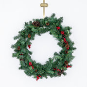 25 inch Wreath for holding or floor placement