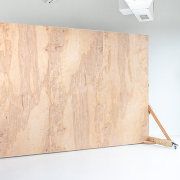 Black and Light Studio Distressed Wood R