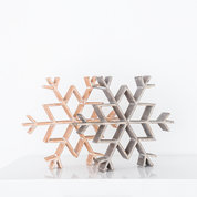 15 inch Wooden Snowflakes