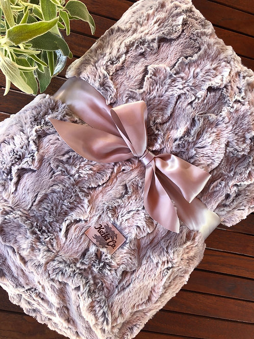 SILVER LINING COUTURE THROW