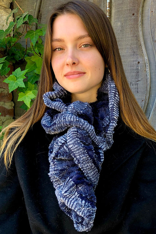 INDIGO NECK WARMER