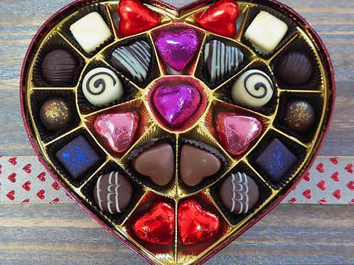 Classic Valentine Heart Box
