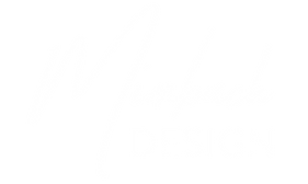 Mimbach Design White Logo