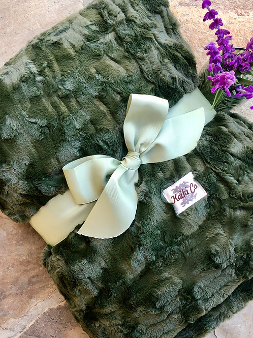 LODEN COUTURE THROW
