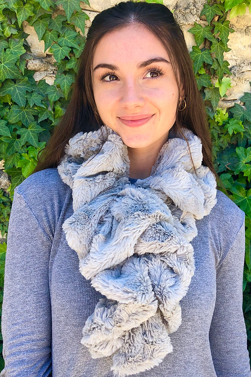 SILVER BELLA NECK WARMER