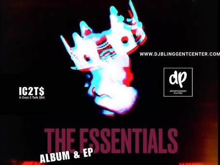 "DJ Blingg Delivers His M.O. Single ─ ""IC2T$"" Featuring His Exclusive Essentials Album & EP"
