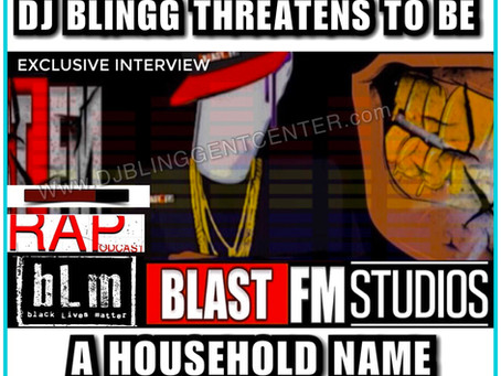 BlastFM's Blog & Radio CEO DJ Blingg Threatens to be a Household Name for Radio & Digital Media