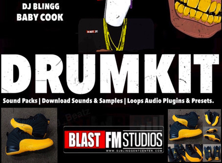 DJ Blingg Drumkit Gets Set to Partner With The Nike Jordan 12 Brand