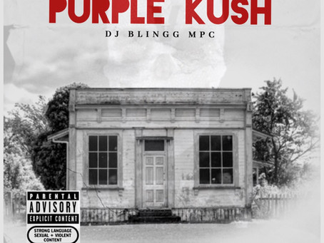 """Podcast Rap Star, DJ Blingg Delivers Purple Kush LP """"Just in Time for Halloween"""""""