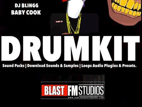 """""""2020"""" DRUM KIT SOUNDPACK INSPIRED BY DJ BLINGG (CT.3) BABY COOK EP"""