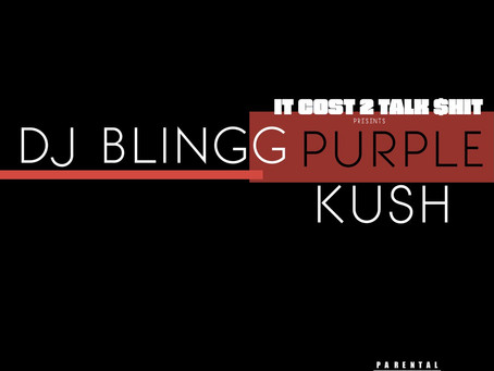 "Podcast Rap Star, DJ Blingg Delivers Purple Kush LP ""Just in Time for Halloween"""