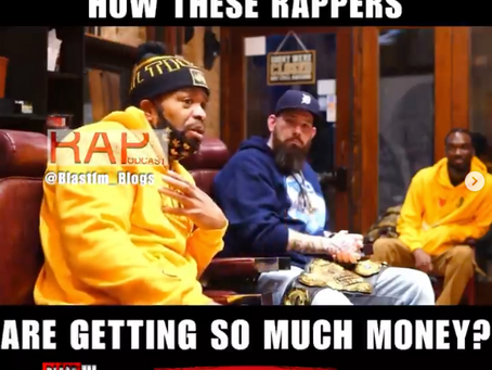 Rap's Veteran Method Man Blows the Whistle During a Podcast Set Questioning New Artists Rap Money
