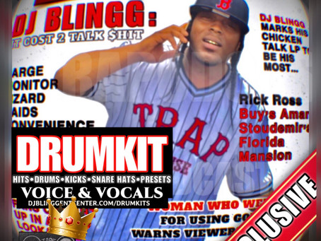 Official EP Single Drumkit Release: DJ Blingg Voice & Vocals Drumkit Sound Pack