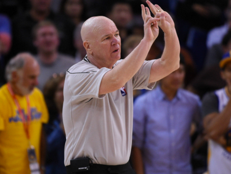 It Looks Like Joey Crawford's NBA Refereeing Career is Over