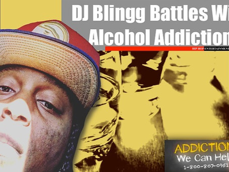 DJ Blingg Admits Exclusively To Having A Bad Alcohol Addiction