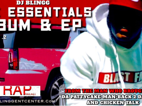 DJ Blingg Quintessentially Raises the Stake Announcing his Vol.2 Essentials Album & EP Deluxe Tape