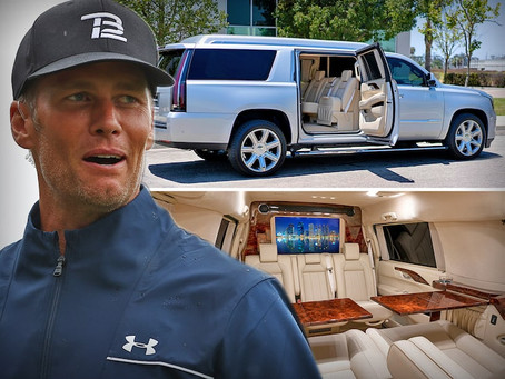 Tom Brady Custom Modified SUV is Up For Sale for a Whopping $300,000