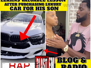 Actor Comedian Kountry Wayne Learns Valuable Lesson After Purchasing Luxury Car For His Son