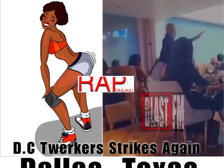 D.C Twerkers Strikes Again at a Dallas, Texas Restaurant