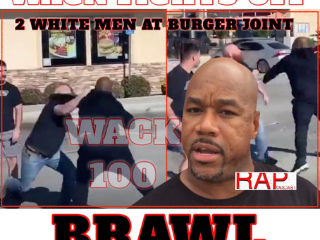 WACK 100 Fights Off 2 White Men During a Parking Lot Brawl