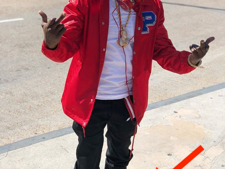 Boosie Badazz Spotted on IG Rocking the 'All-Red' GTMG 'Air Jordan XII'