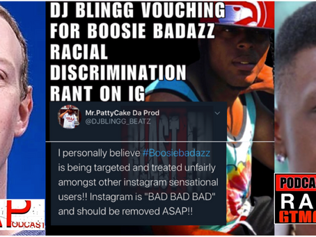 Reality Podcast Rap Star DJ Blingg Vouches for Boosie Badazz Racial Discrimination Rant on IG
