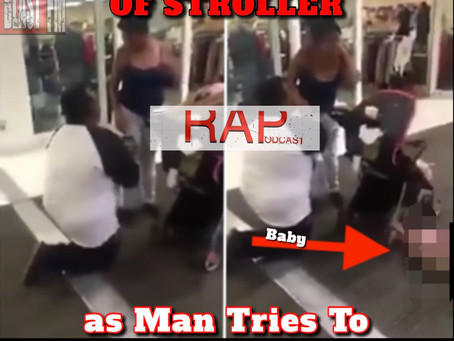 Baby Falls Out of Stroller as Man Tries To Propose To Girlfriend