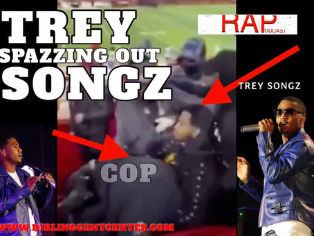 """Trey Songz"" is Back Spazzing Out on Security During NFL AFC Championship Game"