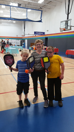 Pickleball at the  YMCA Open House
