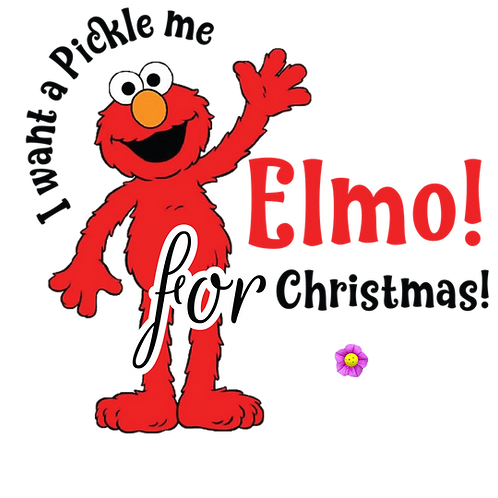 Pickle Me Elmo!