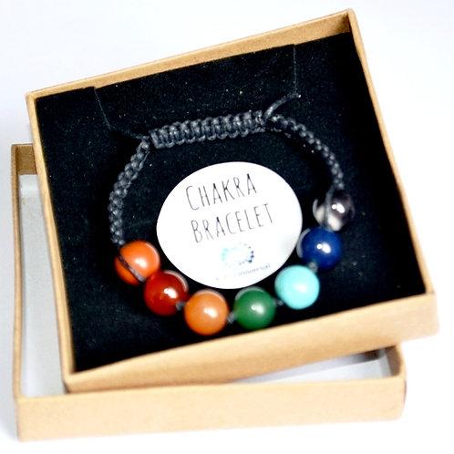 Seven Crystal Chakra Bracelet